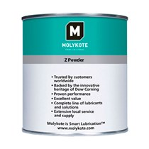Anti-Friktions Coating - Molykote Z Powder - 1 kg dåse